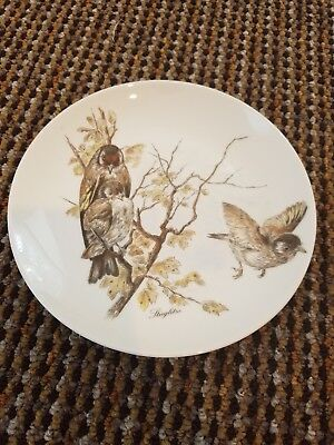 Vintage KAISER W GERMANY hanging decorative wall plate Birds