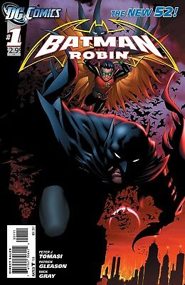 Dc Batman And Robin Comic Set #1-40 Complete Set. New.