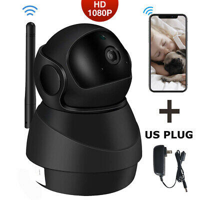 JOOAN 1080P Wireless WIFI Outdoor Home Security IP Camera Bullet IR Night Vision