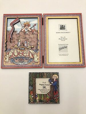 Lot of 2 Mary Engelbreit Picture Frames  The Queen of Everything