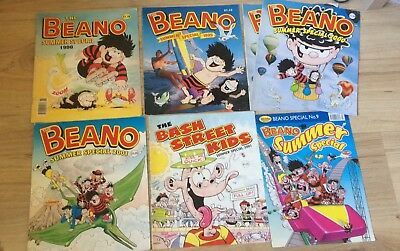 Beano Comic summer specials 1998-2004,  good condition, 7 issues, 1 double