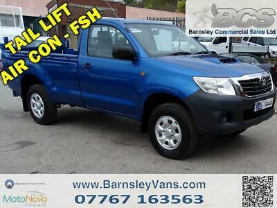 2012 62 Toyota Hilux 4X24Single Cab With Tail Lift Full History