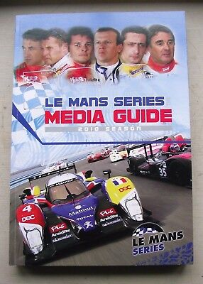Book: Le Mans Series  official media guide 2010 season. VGC pre-owned