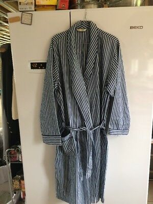 Mens Vintage M&S Dressing Gown Size Large