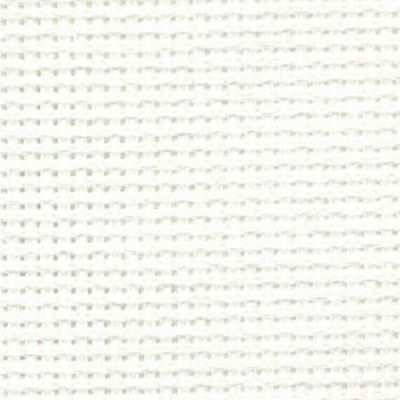 14ct DMC AIDA FABRIC~WHITE BLANC 1 METRE X 110CM