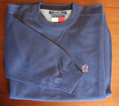 Vintage Tommy Hilfiger Sweater New Without Tags Medium Blue - Men's Large