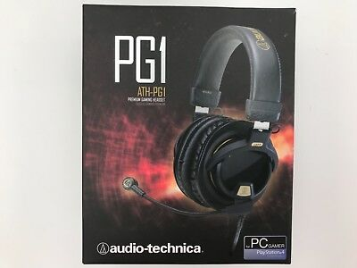 bff63c4ab73 AUDIO-TECHNICA ATH-PG1 PREMIUM Gaming Headset for PS4 New Open Box ...
