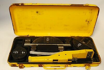 Yellow Jacket 60331 Ratchet Hand Tube Bender Kit By Ritchie Engineer