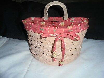 Longaberger Handwoven Collectible Basket (New)