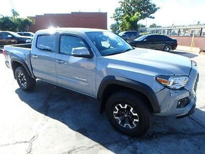 2018 Toyota Tacoma TRD Off Road 2018 Toyota Tacoma TRD 4X4 Salvage Damaged Repairable! Only 23K Miles! Wont Last