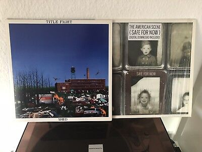 Title Fight-Shed LP/The American Scene-Safe For Now LP (Emo/Punk)