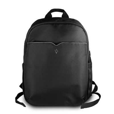 Genuine Maserati Gransport Backpack - Rucksack - Black