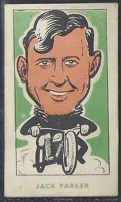 Kiddys Favourites-Popular Speedway Riders-#28- Belle Vue - Jack Parker
