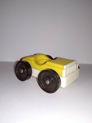 rare Vintage fisher price little people Play Family voiture personnage Plastique