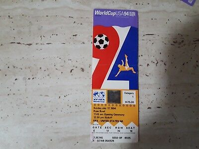 Ticket WorldCup USA 94,