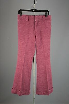 Vtg Men's 1970s Levis NOS Deadstock Knit Bell Bottoms 30x29 70s Pants #5280A