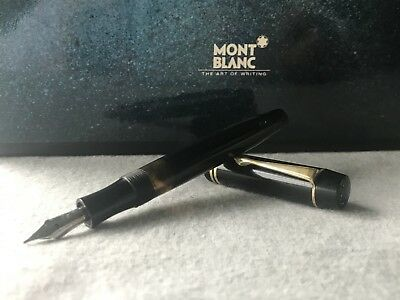 Rare Vintage Montblanc OBB No. 332 Piston Filler Fountain Pen Made in Germany