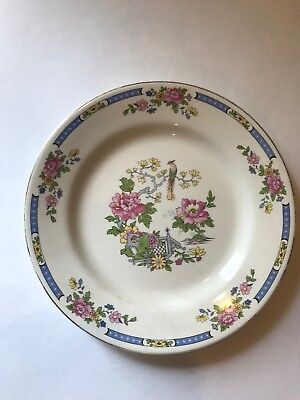 VINTAGE LORD NELSON WARE INDIAN TREE PATTERN -three plates