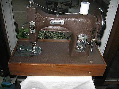 ANTIQUE DOMESTIC ROTARY Electric Sewing Machine 4040 PicClick Cool Antique Domestic Sewing Machine