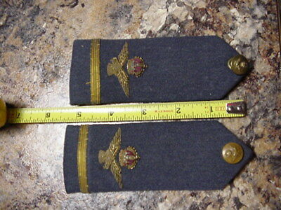 British Officers Epaulets