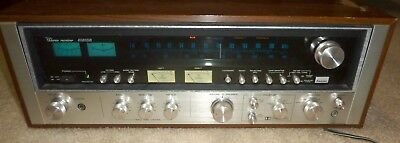 Sansui 8080DB Vintage Stereo Receiver Preamp Radio FM AM Amp Amplifier WORKING!