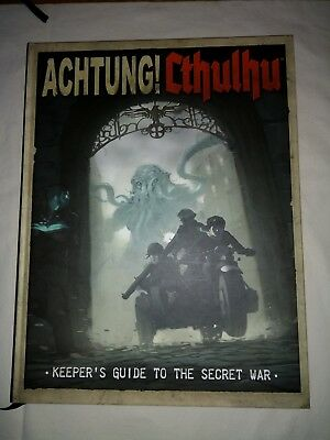 Achtung Cthulhu Keepers Guide to the Secret War RPG Englisch, HC