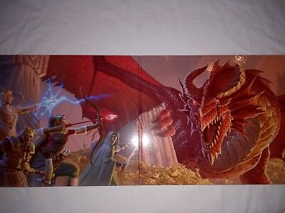 Dungeons & Dragons 5 GM Screen (SL-Schirm, Sichtschirm D&D, Tabellen etc)