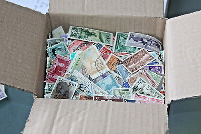 Box Of Worldwide Stamps Off Paper - All Eras - 4000+ Stamps