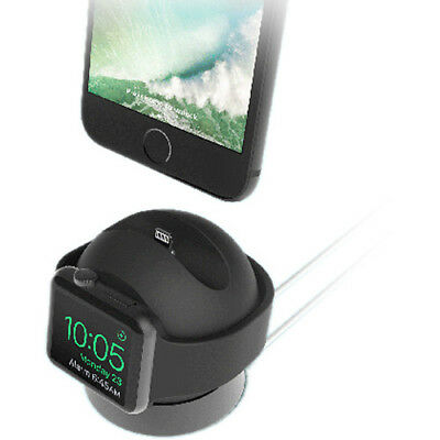 iOttie OmniBolt S Apple Watch & iPhone Charging Stand- Graphite