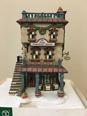Department 56 - Dickens Village Series- Leed's Oyster House #56.58446