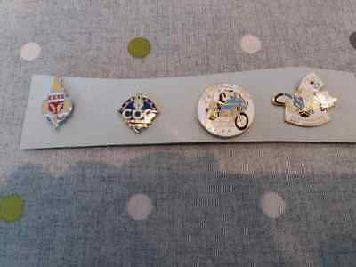 lot de 4 pin's gendarmerie