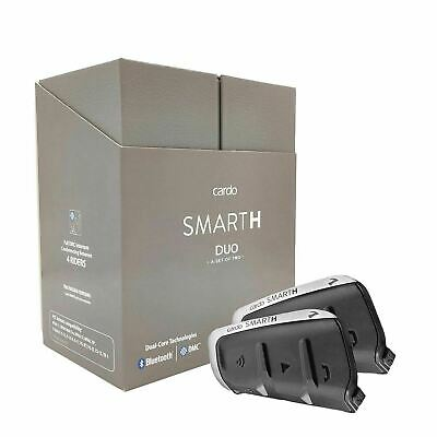 Cardo Scala rider SMARTPACK Bluetooth and DMC Mesh Technology Motorcycle DUAL