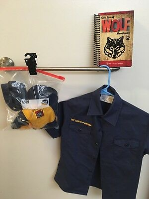 Cub Scouts Wolf Uniform with book