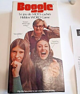 Vtg 1973 BOGGLE Parker Brothers HIDDEN WORD GAME No 272 Complete In Box w/ Timer