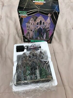 NIB Lemax Spooky Town Collection GOTHIC RUINS RETIRED!