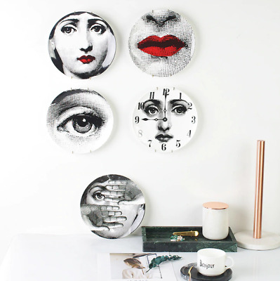 10 Inch Fornasetti Designer Luxury Plates Home Decoration Fashion Vintage Retro
