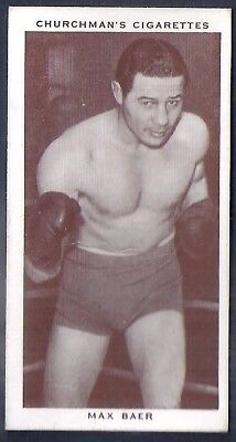 Churchman-Boxing Personalities-#03- Max Baer