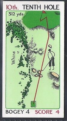 Churchman-Can You Beat Bogey At St Andrews (No Overprint)-#28- Quality Golf Card