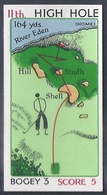 Churchman-Can You Beat Bogey At St Andrews (No Overprint)-#32- Quality Golf Card