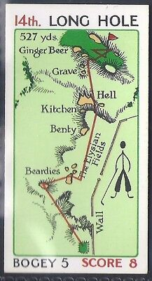 Churchman-Can You Beat Bogey At St Andrews (No Overprint)-#42- Quality Golf Card