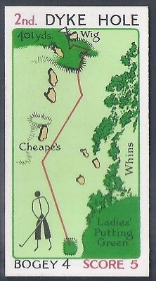 Churchman-Can You Beat Bogey At St Andrews(Red Overprint)-#05- Quality Golf Card