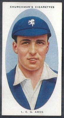 Churchman-Cricketers Cricket-#01- Kent - Ames