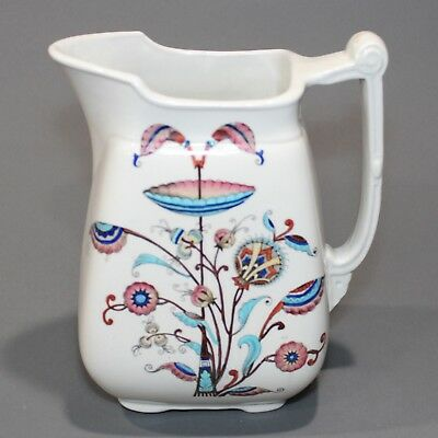 CHRISTOPHER DRESSER Old Hall PERSIA Pattern Aesthetic Pitcher Transferware NR.