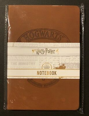 Harry Potter Hogwarts Hardcover Notebook Wizarding World EXCLUSIVE CultureFly