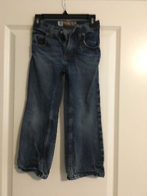 Lee Dungarees Boy's Relaxed Bootcut Jeans Sz 5 Slim PREOWNED
