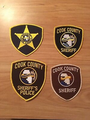 Cook County Sheriff Patches