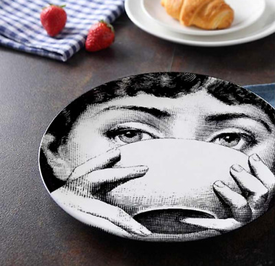10 Inch Fornasetti 33 Designs - Luxury Plates Home Decoration Fashion Designer