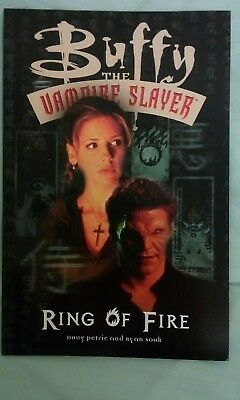 Buffy the vampire slayer Ring Of Fire Titan Books 2000 First Edition