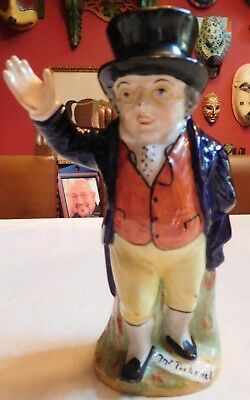 "MR.PICKWICK PITCHER ""OLD STAFFORDSHIRE""  circa 1800's..TOBY MUGS"