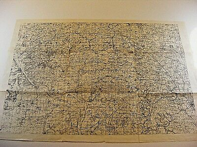 WW1 Original Field Maps showing battle positions, trench lines, objectives, USR